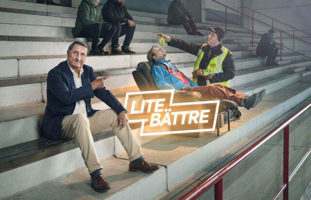 """""""Lite bättre"""" – Curt Lindström tähdittää Sakan mainontaa"""