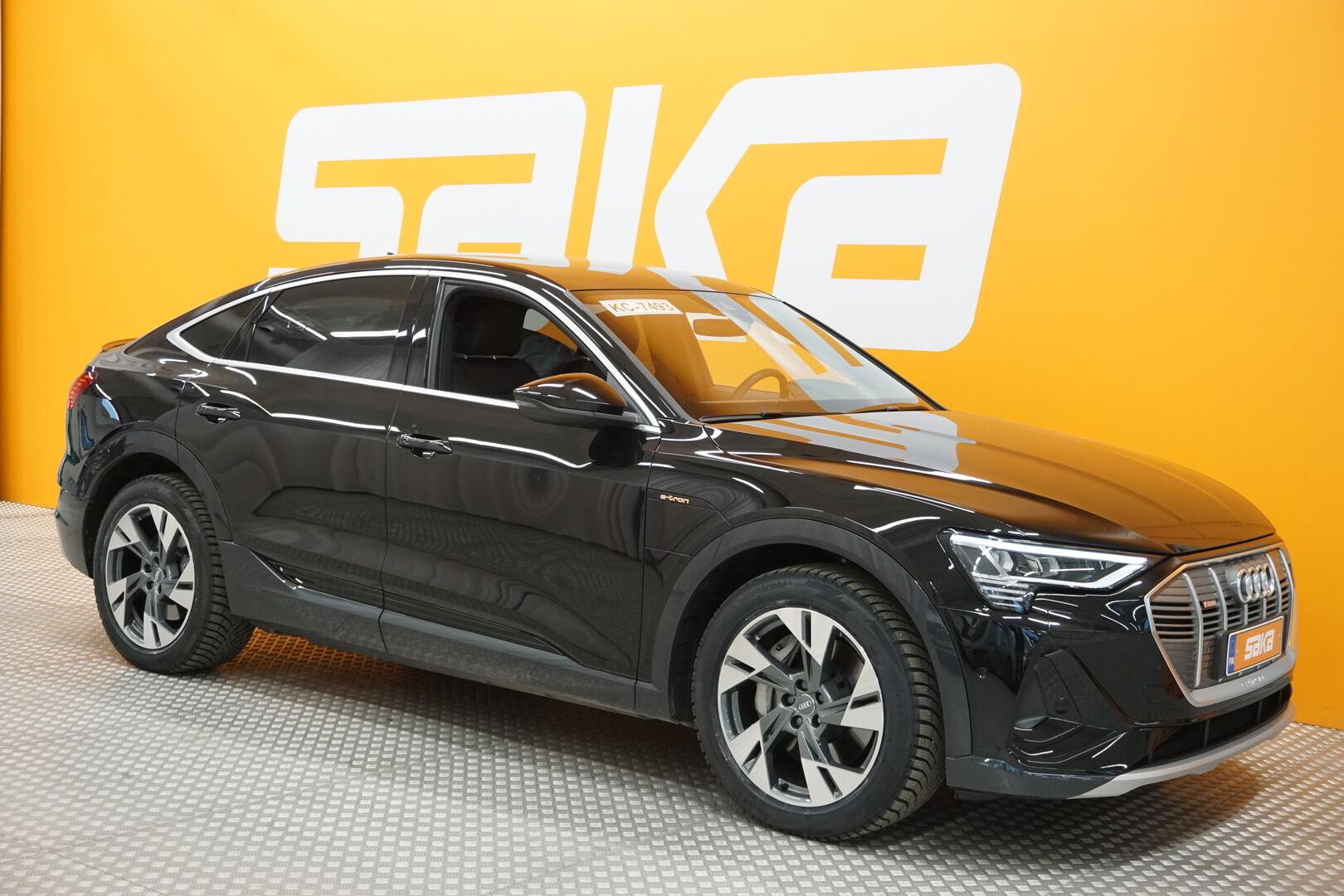 Musta Maastoauto, Audi e-tron – ESP-28146, kuva 1