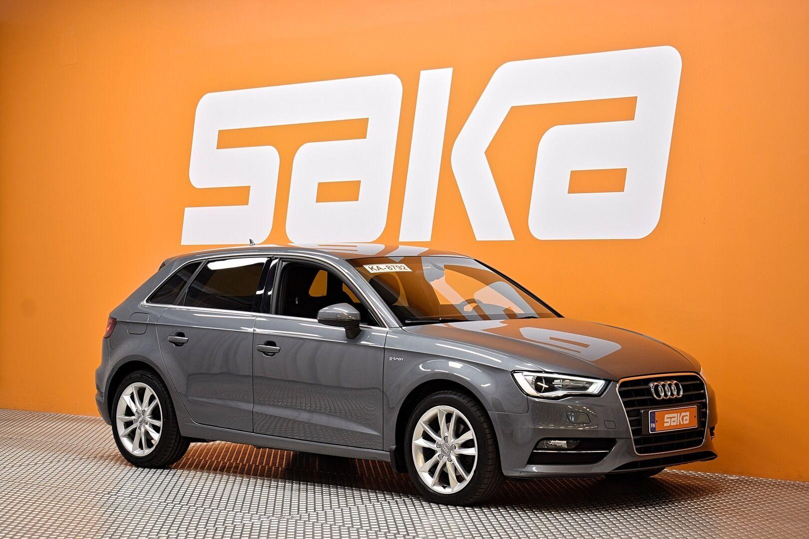 Harmaa Viistoperä, Audi A3 – EXP-40417, kuva 1