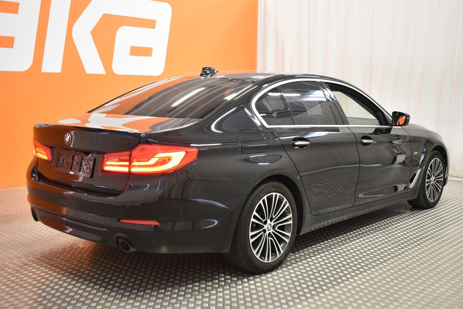 Musta Sedan, BMW 520 – EXP-5828, kuva 7