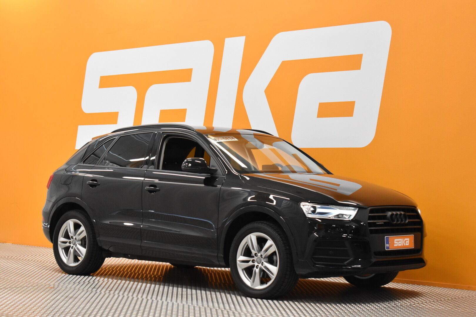 Musta Maastoauto, Audi Q3 – JÄR-13851, kuva 1