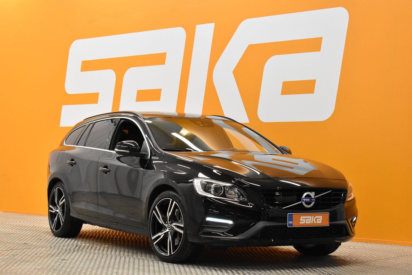 Musta Farmari, Volvo V60 – JÄR-93292, kuva 1