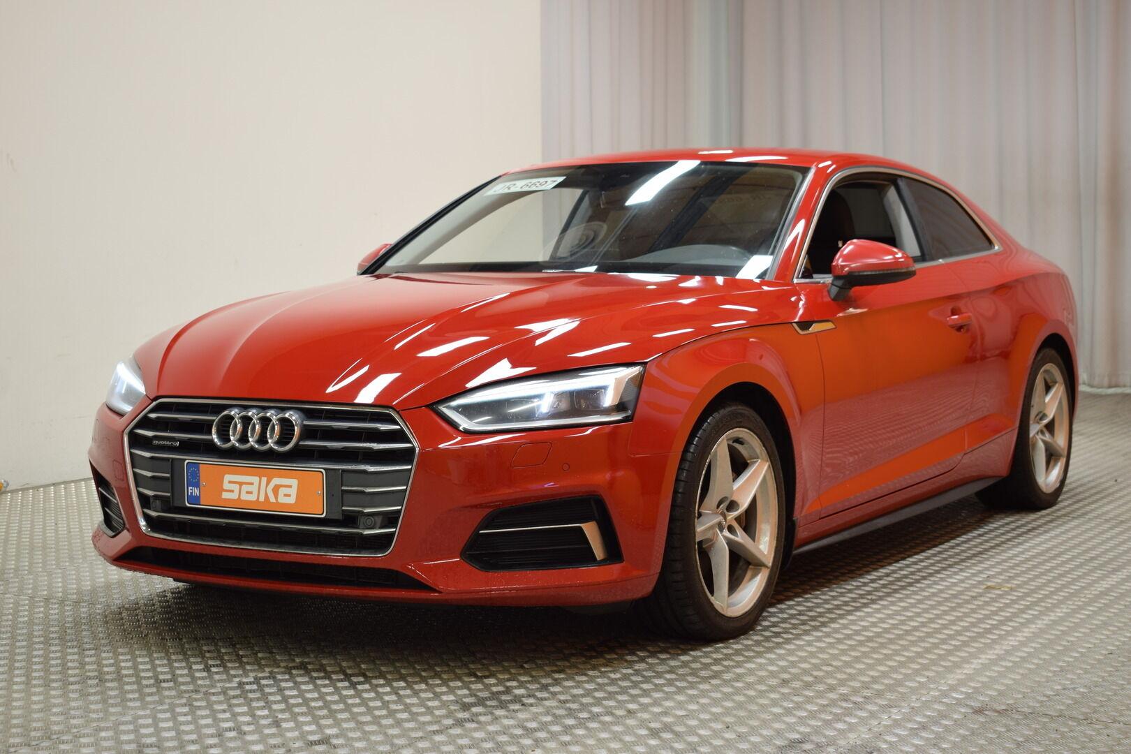 Punainen Coupe, Audi A5 – KON-06797, kuva 2