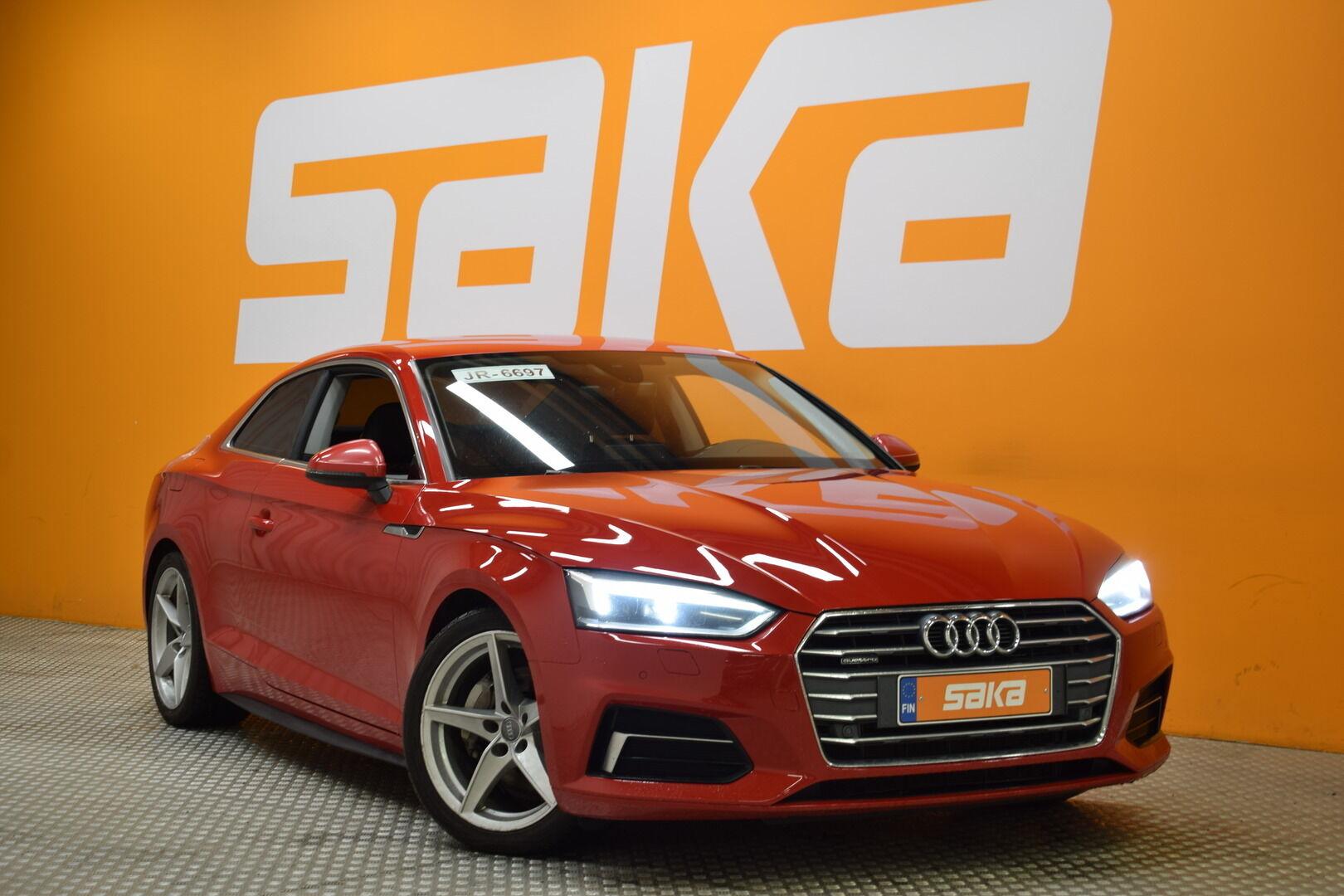 Punainen Coupe, Audi A5 – KON-06797, kuva 1