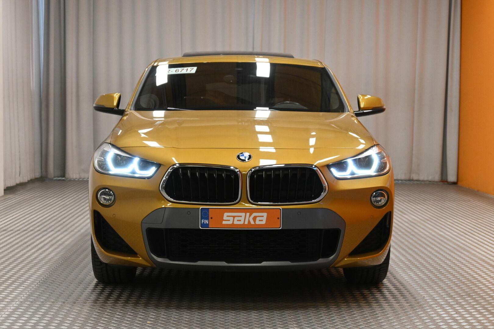 Keltainen Maastoauto, BMW X2 – KON-64359, kuva 2