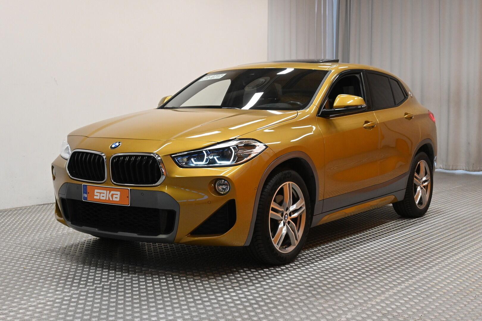 Keltainen Maastoauto, BMW X2 – KON-64359, kuva 3
