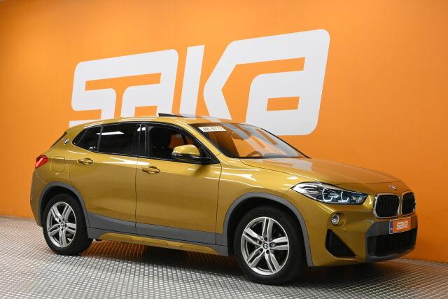 Keltainen Maastoauto, BMW X2 – KON-64359