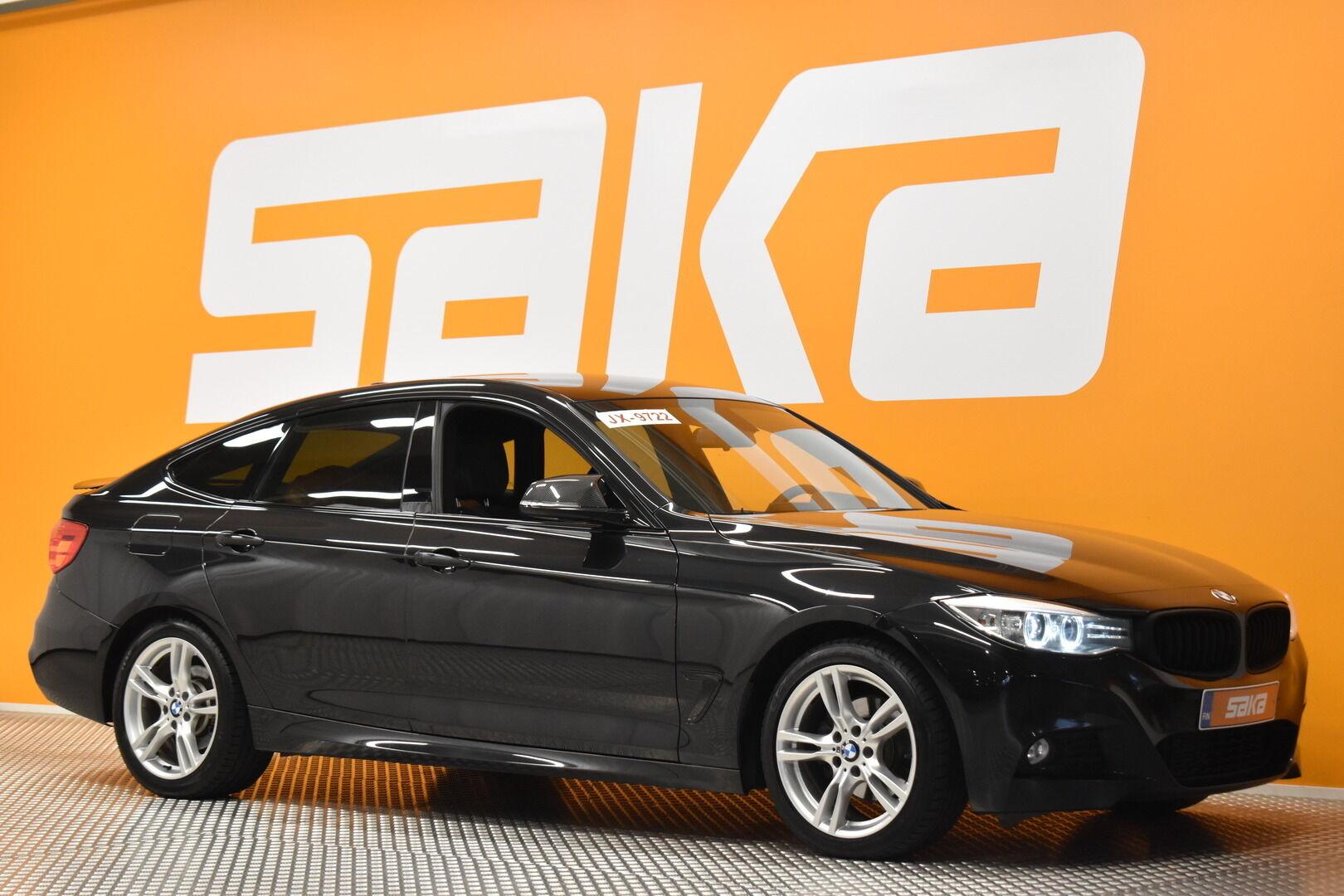 Musta Sedan, BMW 320 Gran Turismo – KOU-73563, kuva 1