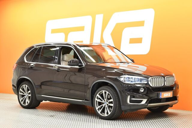 Ruskea Maastoauto, BMW X5 – KOU-88675