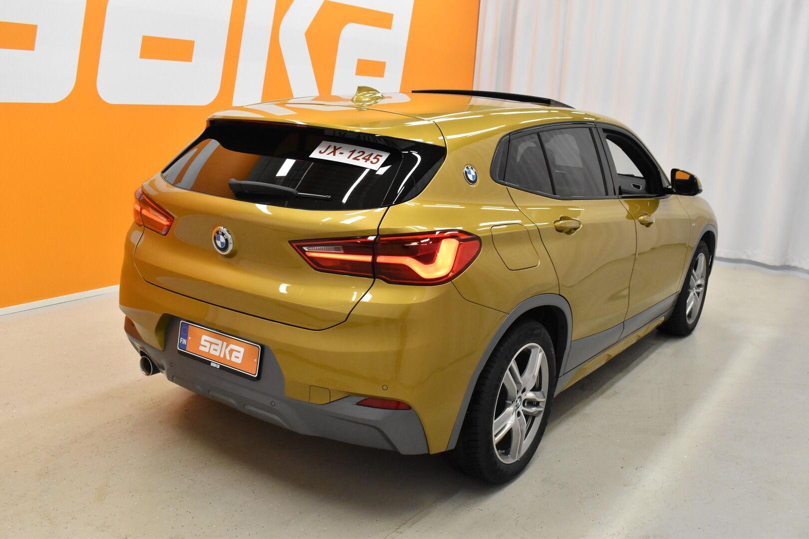 Keltainen Maastoauto, BMW X2 – LAH-64417, kuva 2
