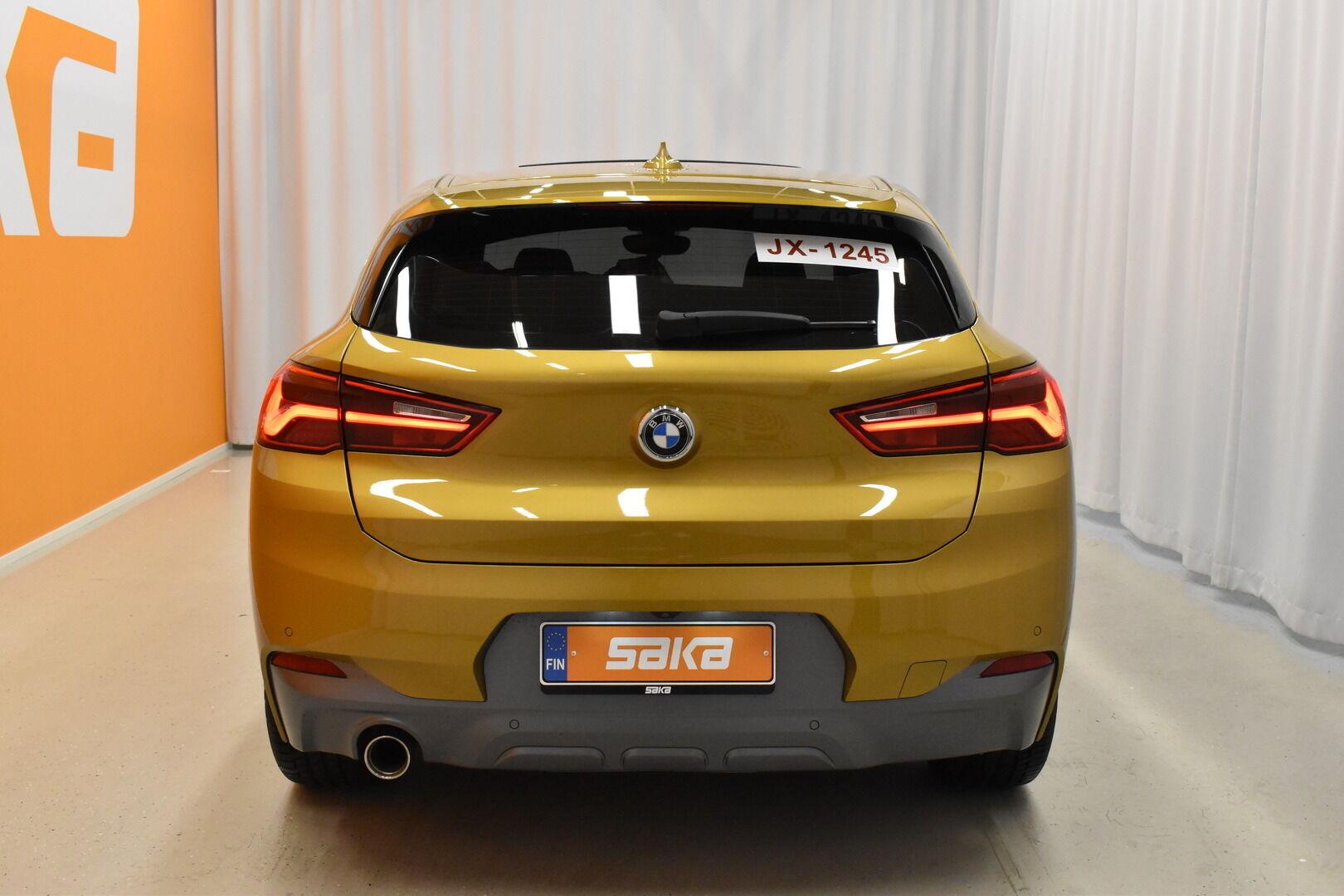 Keltainen Maastoauto, BMW X2 – LAH-64417, kuva 3