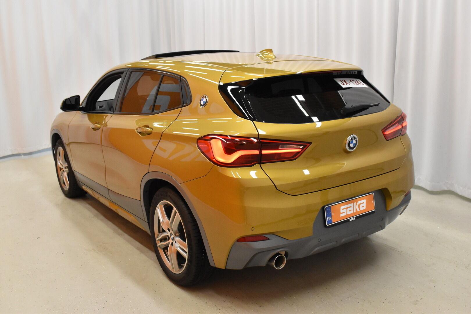 Keltainen Maastoauto, BMW X2 – LAH-64417, kuva 4