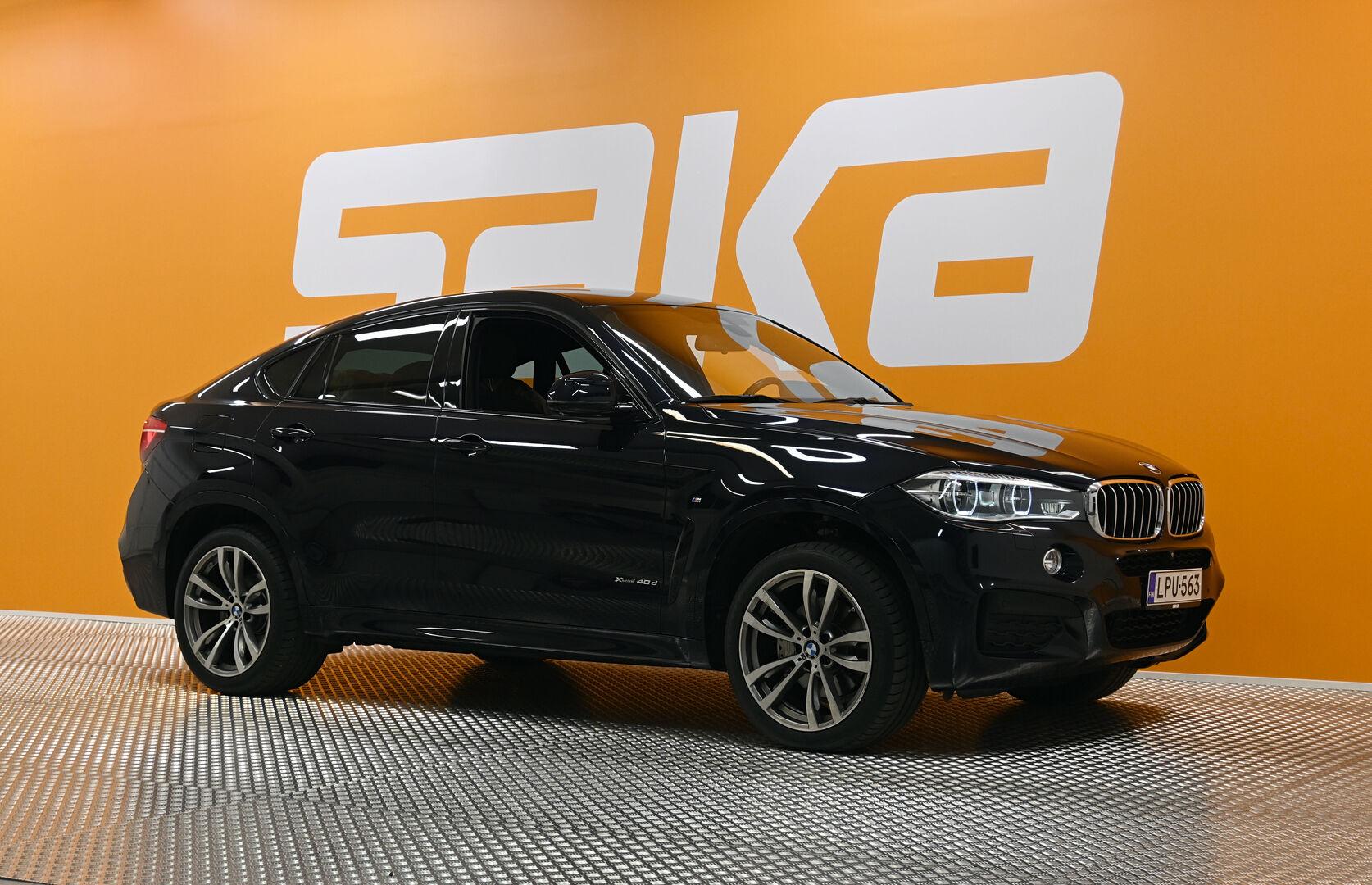 Musta Maastoauto, BMW X6 – OUL-13943, kuva 1
