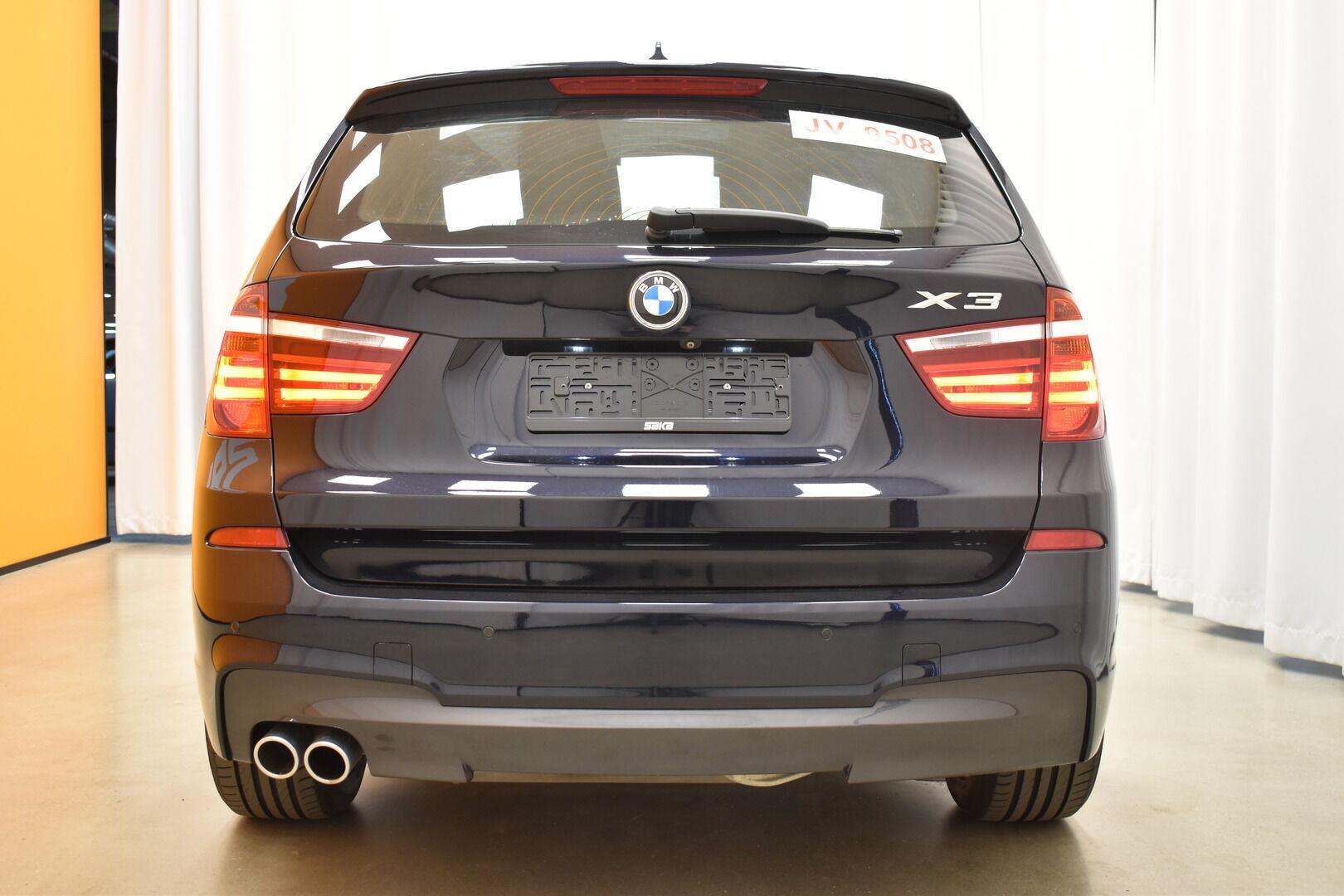 Musta Maastoauto, BMW X3 – OUL-28083, kuva 24