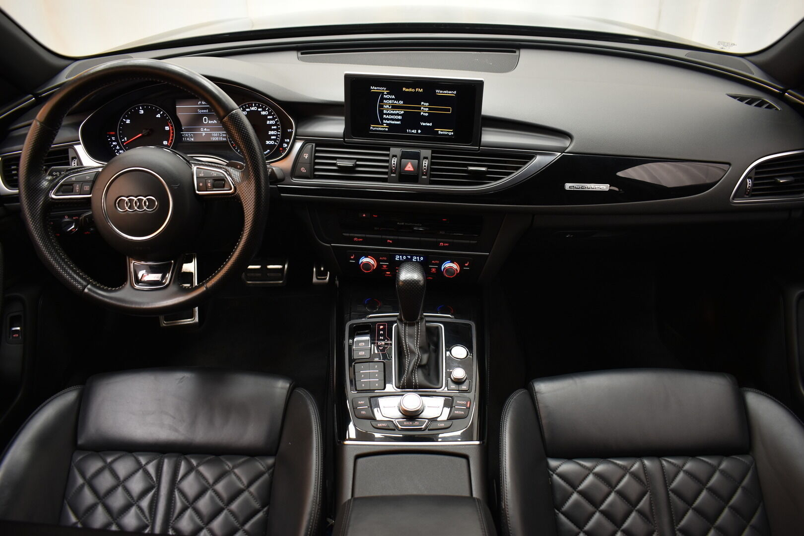 Musta Farmari, Audi A6 – OUL-89168, kuva 17