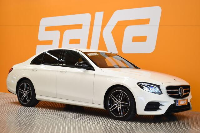 Valkoinen Sedan, Mercedes-Benz E – RAI-08473