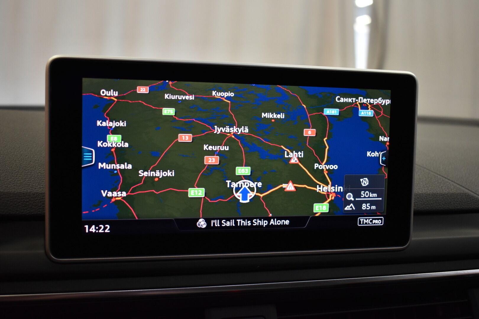 Sininen Farmari, Audi A4 – TAM-75465, kuva 17