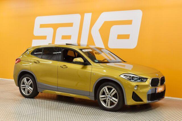 Keltainen Maastoauto, BMW X2 – VAA-64530